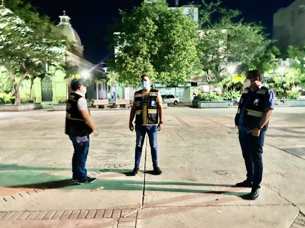 Autoridades realizan intervenciones en los parques de la ciudad de Riohacha - Noticias de Colombia