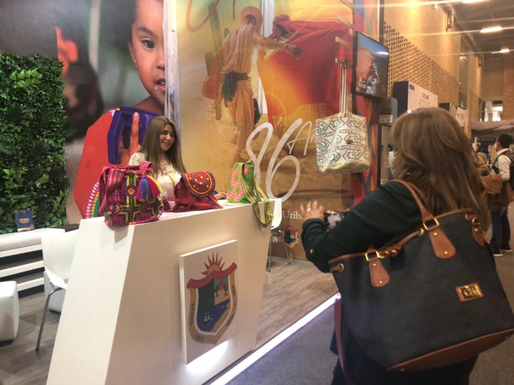 Uribia se promociona como destino turístico en la vitrina Anato 2021 - Noticias de Colombia