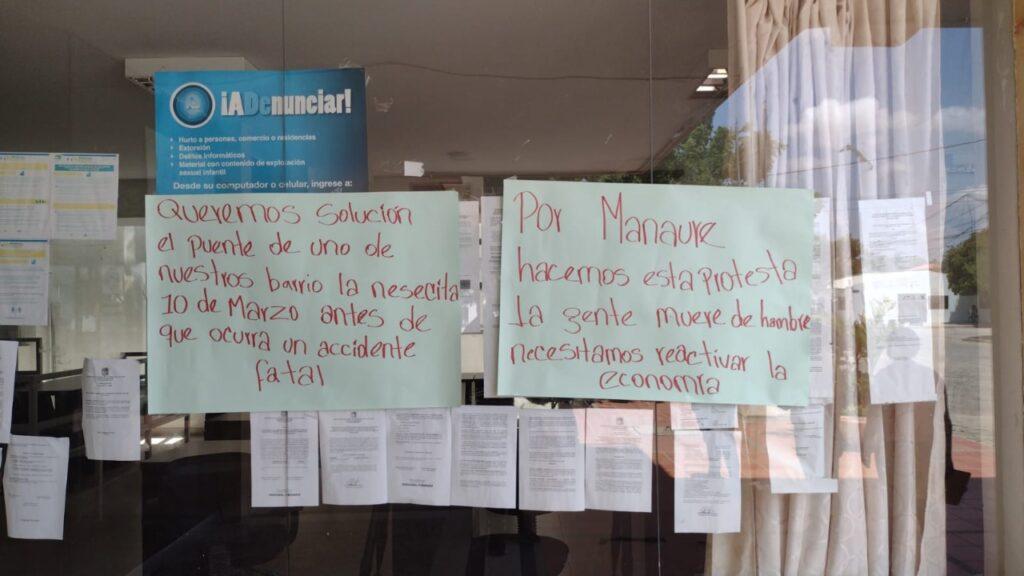 Concejal de Manaure inició huelga de hambre a las afueras de la Alcaldía - Noticias de Colombia