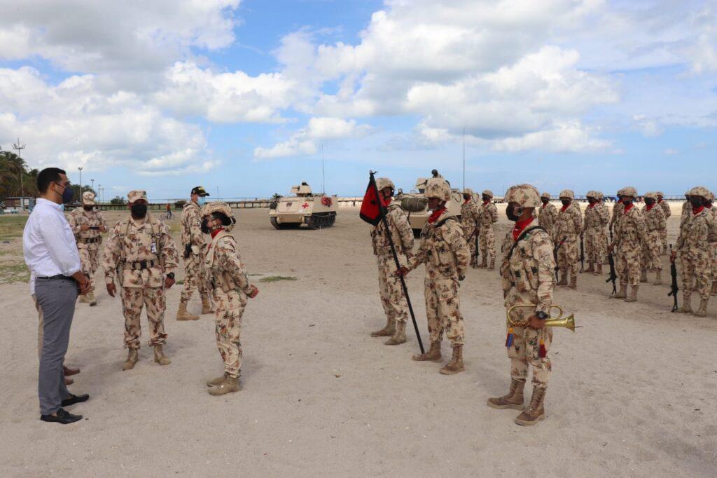 Juraron bandera 180 soldados, quienes garantizarán seguridad y soberanía en Riohacha, Manaure y Dibulla - Noticias de Colombia