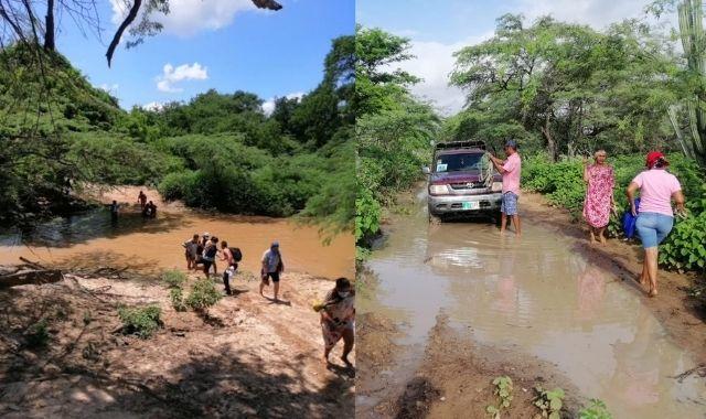 La travesía de los docentes de la sede principal de la IE Rural Anoui de Manaure para llegar a sus lugares de trabajo - Noticias de Colombia